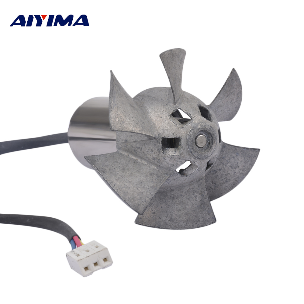 Aiyima Motor AC 12V High Power Current Metal Culvert Fan Inner Rotor Brushless Aero-model Aircraft For Electric Vehicle Motors 3phases dc motor 12v inner rotor brushless motor model diy production lzx