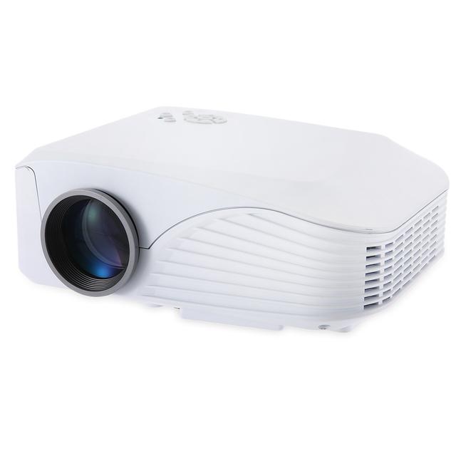 H88 LED Proyector 1000 Lúmenes Proyector 1080 P Proyección Máquina con usb hdmi vga av sd micro ranura del controlador remoto mini fresco