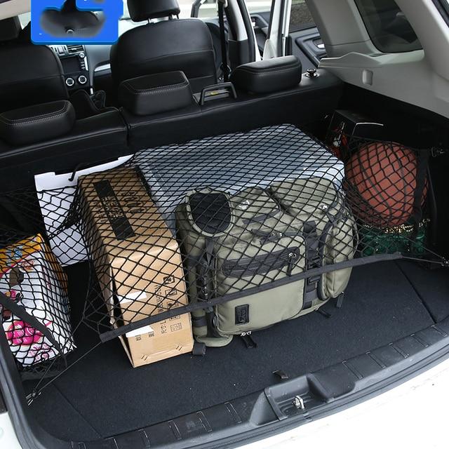 Trunk Luggage Storage Cargo Organiser Nylon Elastic Mesh