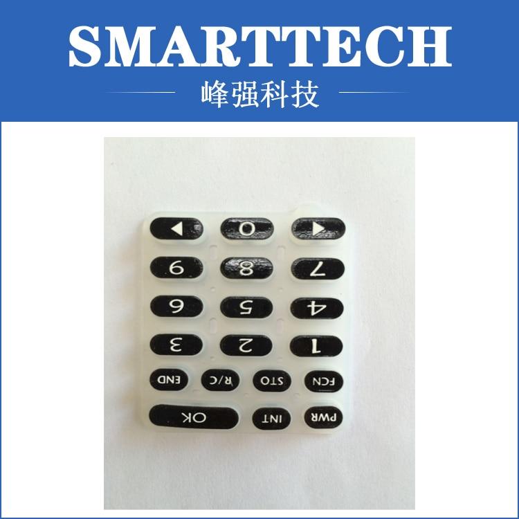 China Professionelle Wasserdichte IP65 Satinierter Gradienten Filme Standard-silikonkautschuk-tastatur