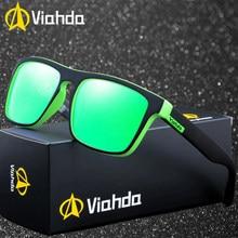 UV400 Viahda 2019 Designer de Marca Homens Polarizada óculos de Sol Óculos  de Viagem Legal Eyewear Gafas Com caixa de Alta Quali. c7b4840086