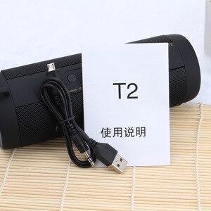 Image 5 - Original T2 Wahre Wireless Bluetooth Lautsprecher Wasserdichte Portable Outdoor Mini Blutooth Spalte Boombox pk xtreme lautsprecher