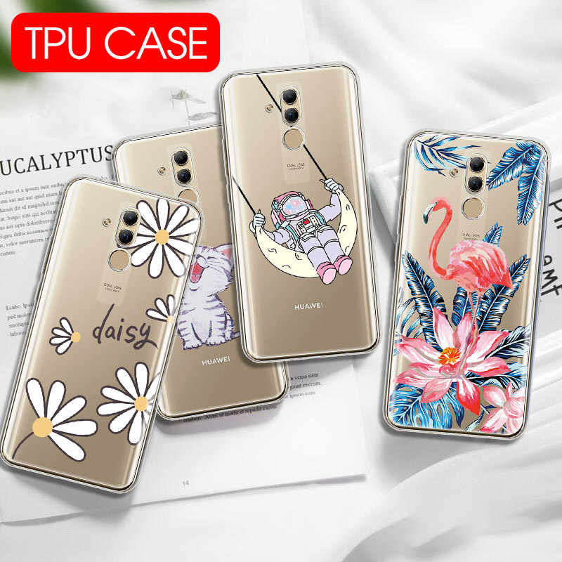 Soft TPU Case for Huawei P30 P20 Pro P30 Lite P Smart Plus 2019 Silicon Phone Cases For Honor 10 Lite 20i 10i 8X Nova 4e Cover