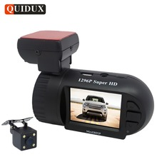 Best price QUIDUX Mini Car DVR 1296P Dashcam ADAS WDR Night Vision MSTAR Full HD Video Camera Recorder GPS Tracker Camcorder Logger