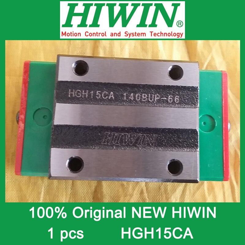 все цены на 1pcs HIWIN HGH15 HGH15CA HG15 New original linear guide block Original HIWIN Linear Guide CNC Parts Stock Good онлайн