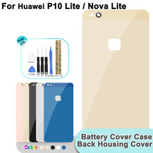 Glass Rear Back Battery Cover For Huawei Ascend P10