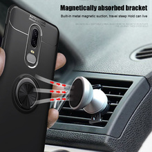HOT Mobile Phone Cover Case Shockproof Finger Ring Holder Magnetic for Oneplus 7 Pro BUS66