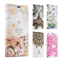 3D Embossed Flower Case for Xiaomi Redmi Note 3 Pro Prime Luxury Floral Stylish Leather Flip Cover for Xiaomi Note 2 Pro