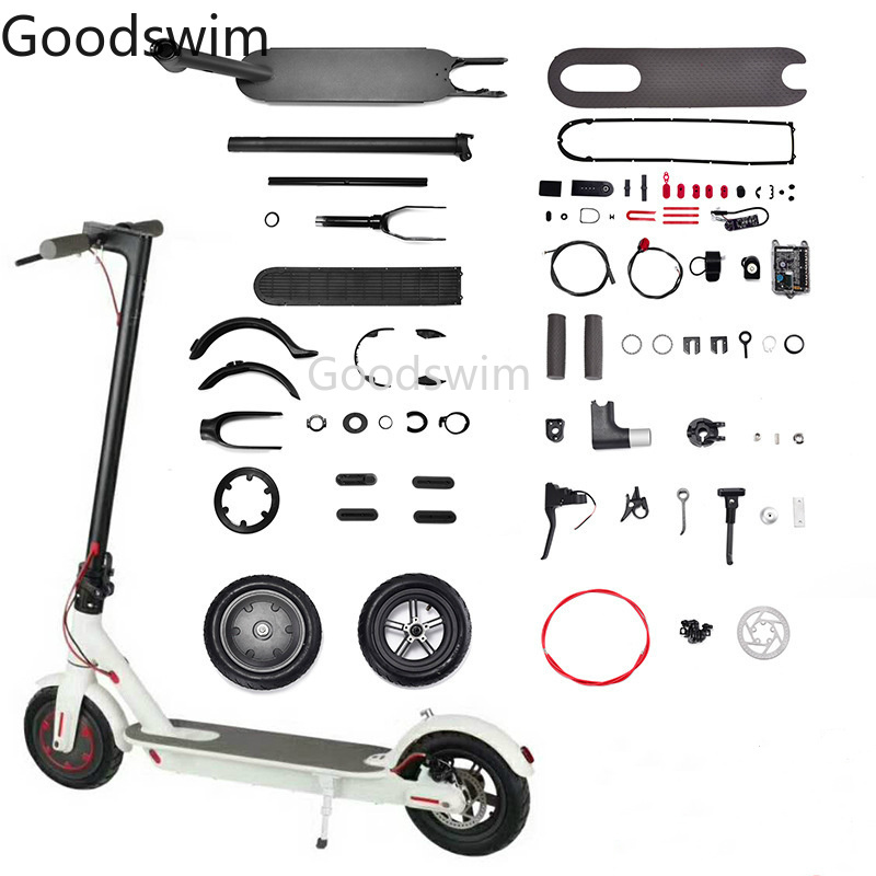 Electric Skateboard Part for Xiaomi Mijia M365 M187 Bird Spin Tire Fender Folding Hook Wrench Display