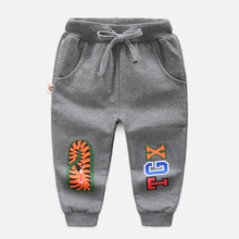New Baby Boys Pants Kids Harem Autumn Thick Animal  Cotton Tiger Children Trousers For Long 2-8 Year
