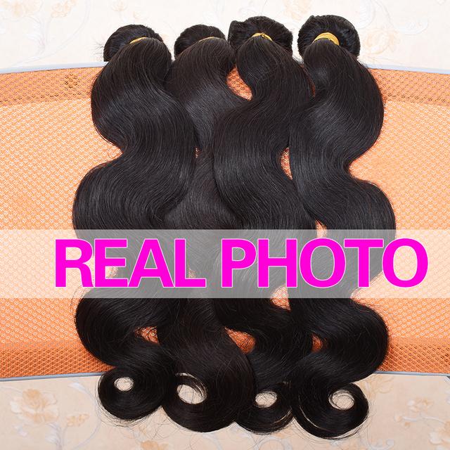 Brazilian Body Wave Hair Weave Bundles 100% Human Hair Bundles 1pc Non Remy Hair Extensions