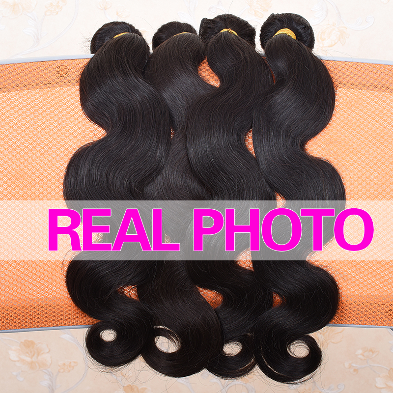 Ali Coco Brazilian Body Wave Hair Weave Bundles 100% Human Hair Bundles 1pc Non Remy Hair Extensions 3 or 4 Bundles Can Buy