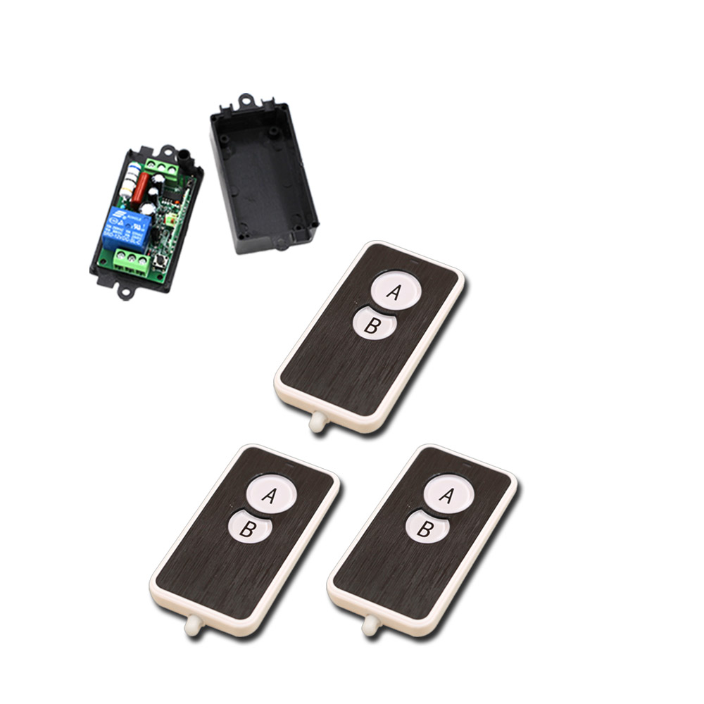 Wireless Remote Control Switch 110v Kedsumr 1 Way On Off Digital For Ac 10a 1ch System 220v