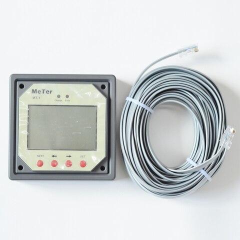 solar controlador de carga reguladores mt 1 com