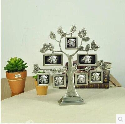Nouveauté bricolage famille pommier photo cadre de haute qualité mariage anniversaire cadeau photo cadres famille look XC010