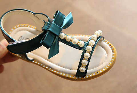 meninas de verao 2019 ruffles princesa sapato anti slip