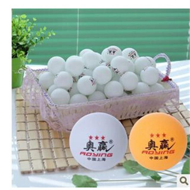 high quality aoying Nice Big 40mm 3 Stars Best White  Table Tennis Balls  Ping-Pong Balls Ping-Pong Big Balls