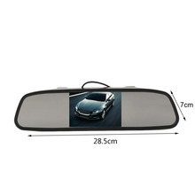 Wholesale New 4.3 Inch Universal Auto Car Car Rearview Mirror Monitor HD Vehicle Video Auto Parking Monitor Rear View Camera Hot Sale
