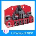 Sujeción de 58 piezas molino Clamp Kit Vicepresidente Metex de la máquina de fresado M12