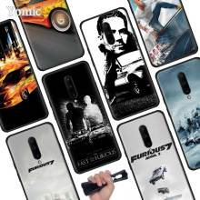 Fast Furious Black Soft Case for Oneplus 7 Pro 7 6T 6 Silicone TPU Phone Cases Cover Coque Shell
