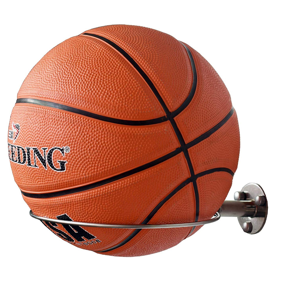 Sports Basketball Wall Mount Sports Ball Wall Holder Display Storage - For Basketball Football Soccer Volleyball,etc