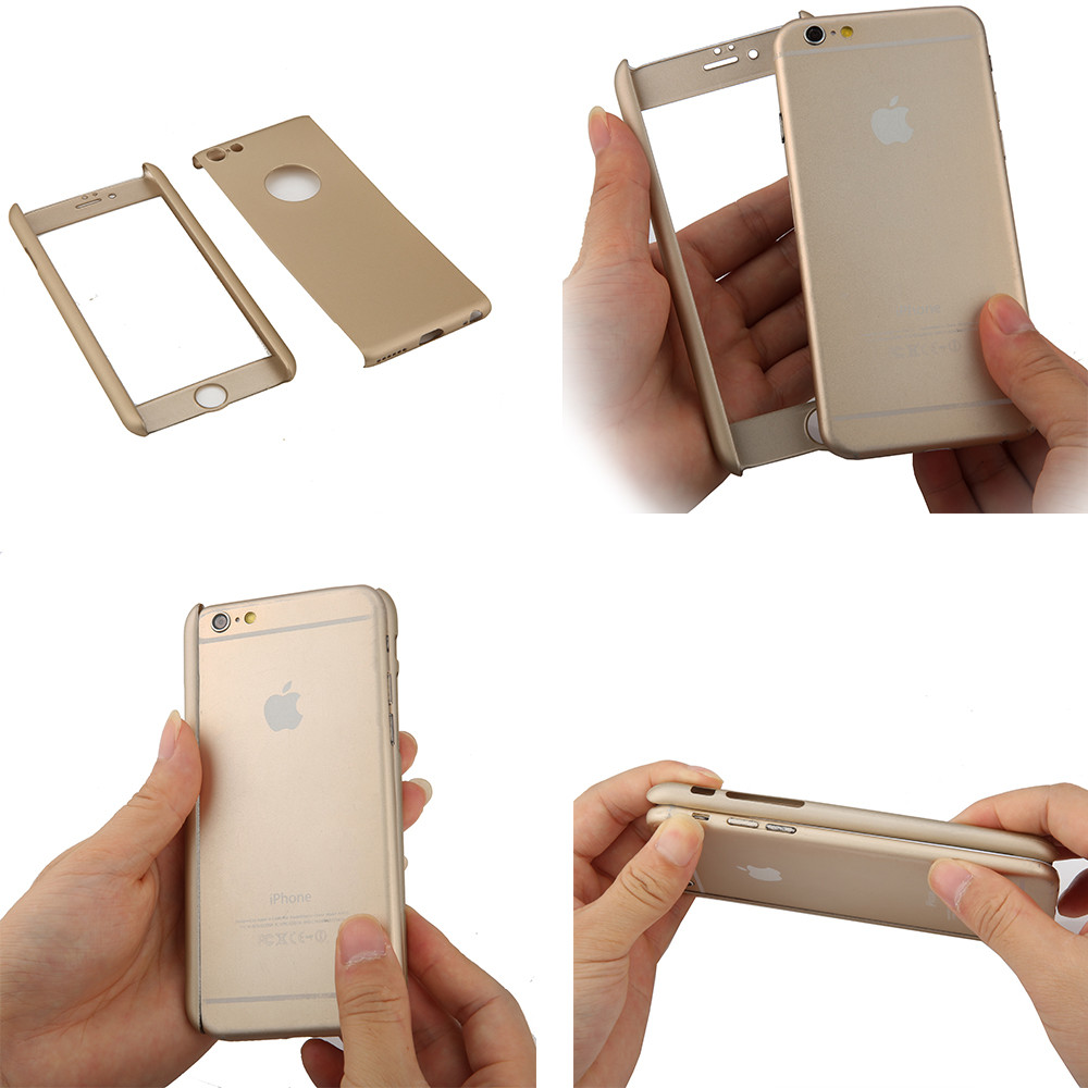 iphone 6 case gold 360