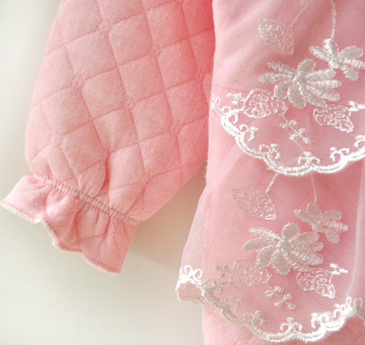 Bebé recién nacido ropa de niña de algodón de aire de invierno - Ropa de bebé - foto 5