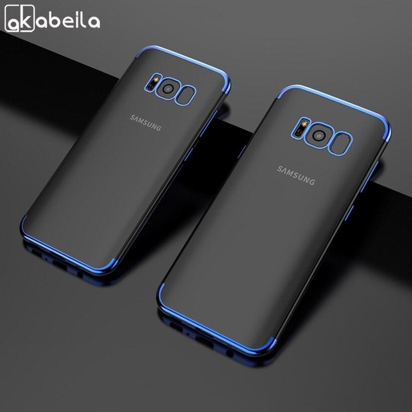 Силиконовый чехол для Samsung Galaxy S8 S9 S6 S7 Edge S10 S10e A5 2017 A6 A8 2018 Note 8 9 10 Plus A50 A70 A10 A40 A30 A60 A80|Специальные чехлы|   | АлиЭкспресс