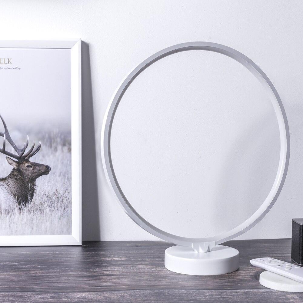 Suny círculo led lâmpada de cabeceira pode
