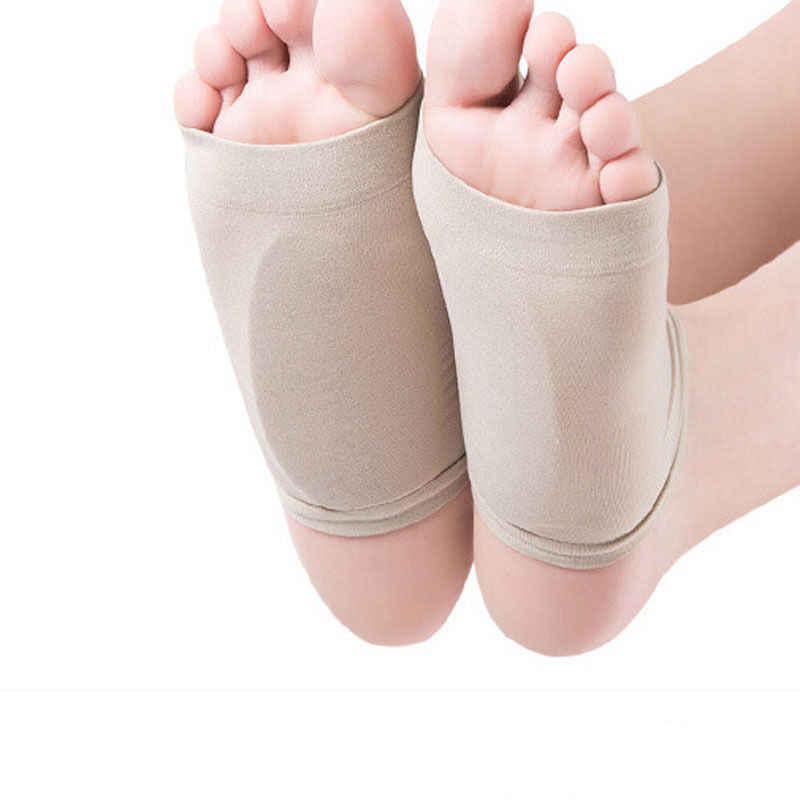 dda3e59fbc 2pcs Flat Feet Orthotic Plantar Fasciitis Arch Support Sleeve Cushion Pad  Heel Spurs Foot Care Insoles