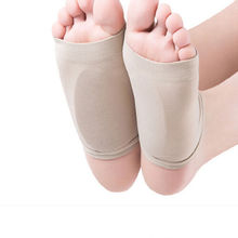 2 pcs שטוח רגליים Orthotic Plantar Fasciitis קשת תמיכת שרוול כרית כרית העקב דורבנות רגל מדרסי רגל Pad Orthotic כלי