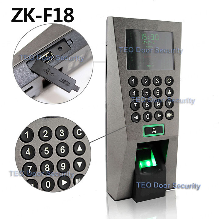 ZK F18 Fingerprint FR1200 Slave Reader for Pass In and Out Access Control System Recognition System effective dimensionality reduction in pattern recognition