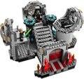 Bole 10464 Star Wars Building Blocks estrella de la muerte final duelo 75093 regalos juguetes compatibles con Legoed