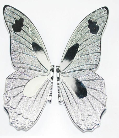 Chrome Plated Butterfly Pull Handle Cabinet (Size:18*17*1.5mm)