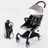 Горячие Детские коляски 3 в 1 новорожденного спальные корзина безопасности ребенка автокресло коляска легко складные коляски