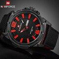 2016 Top de Luxo Da Marca Homens Moda Relógios Desportivos Data Homem do Relógio de Quartzo dos homens Do Exército Militar de Pulso de Água Relógio Relogio Masculino