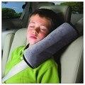 Baby Car Seat Auto Safety Belt Harness capa Shoulder Pad cinza crianças proteção tampas de almofada apoio Pillow