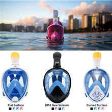 Scuba Diving Mask Full Face Snorkeling Underwater Anti Fog For Swimming Spearfishing Dive Men