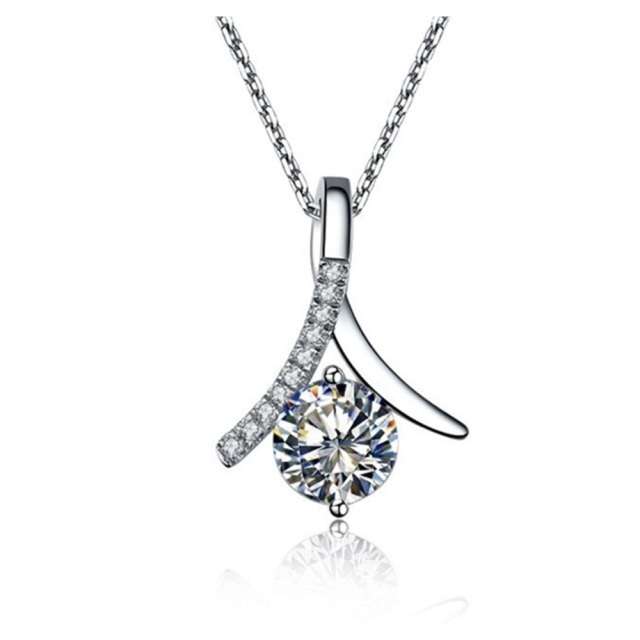 gold diamonds with diamond of pendant chain heart
