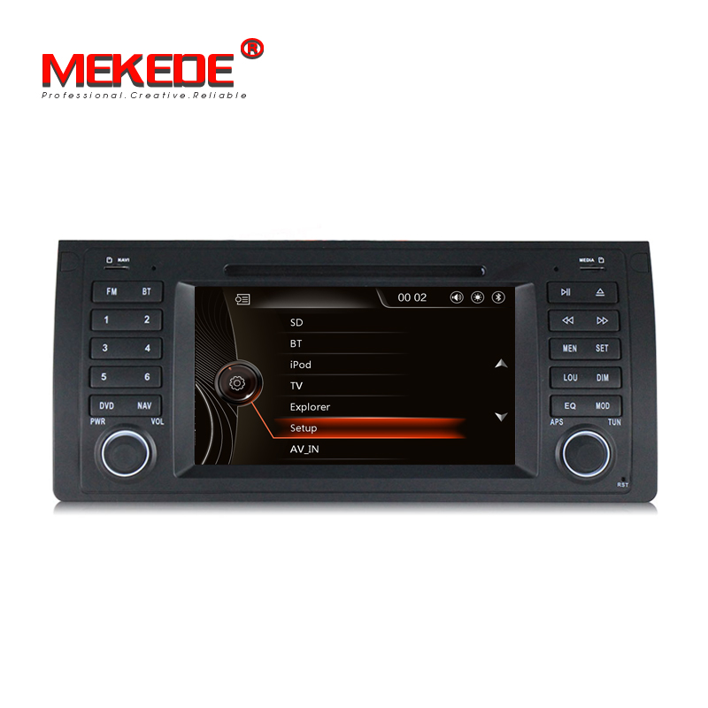 free 8gb map card 7 HD Capacitive Touch Screen Car DVD for E39 E53 x5 with