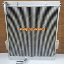 New Oil Cooler For E325B Hydraulic Excavator Free Shipping