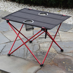 Image 2 - נייד קל משקל בחוץ שולחן עבור קמפינג שולחן אלומיניום סגסוגת פיקניק מנגל מתקפל שולחן חיצוני פרק חוף נסיעות שולחן