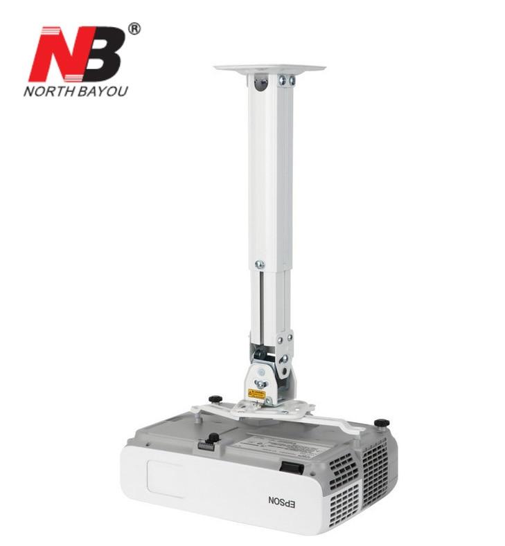 Universal projetor montagem NBT817-60 movimento completo projetor suportes comprimento do teto 15.4