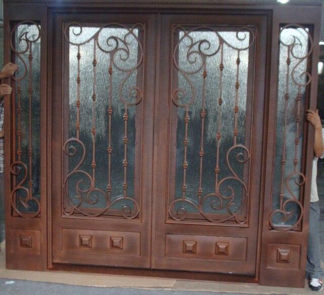 Puertas de metal para casas simple elegant de hierro for Puertas de hierro para entrada de casa