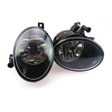 цены SCJYRXS Car Light Assembly Front Halogen Fog Lights For Golf MK6 Bettle Caddy Tiguan 5K0941699 5KD941699 5K0 941 700 5KD941700