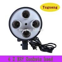 NEW Photographic Lighting 4 Socket Lamp For Digital Photo Photo Studio Accessories