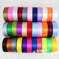 "(25 yards/roll) 1"" (25mm) Single Face Satin Ribbon Webbing Decoration Gift Christmas Ribbons"