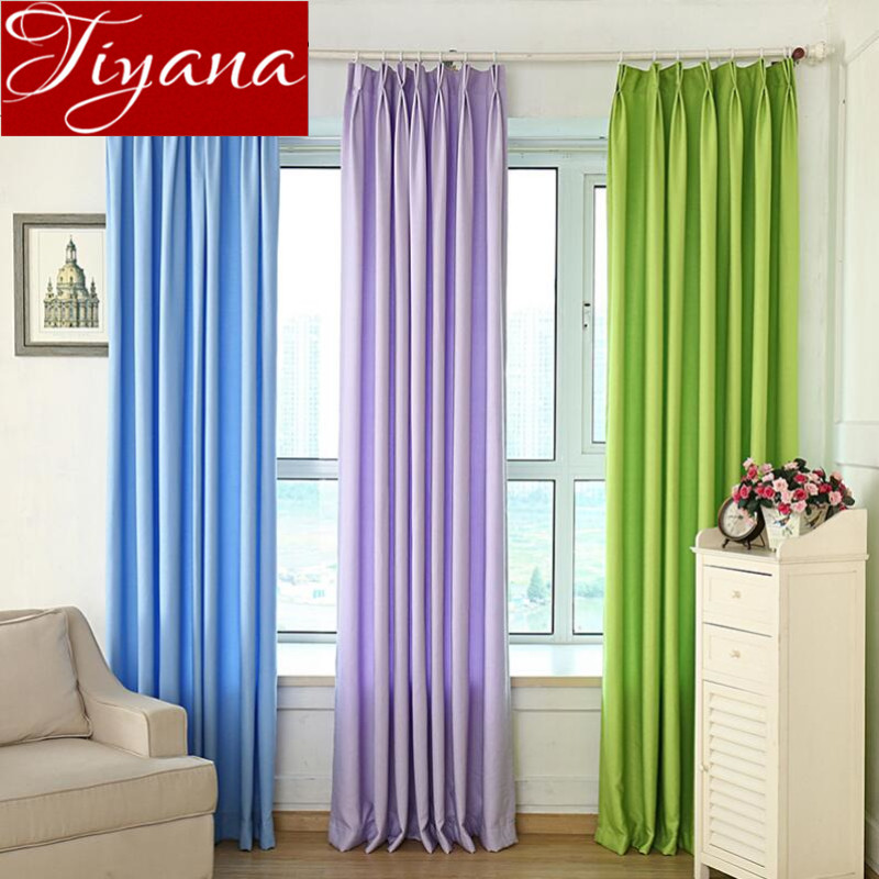 verde puro curtians modernas cortinas de ventana cortinas del saln dormitorio cortinas cortinas de telas de