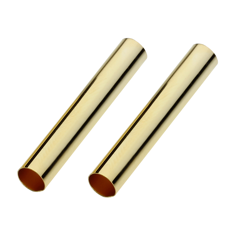 100pcs dark gold-tone little round spacer beads h2311