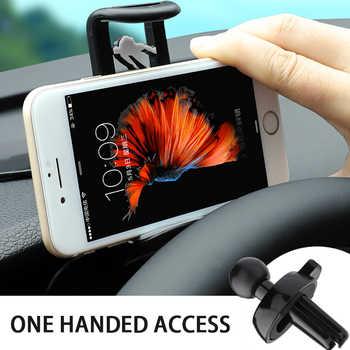 Smartphone de apoyo voiture teléfono coche telefoonhouder de teléfono soporte móvil para coche estabilizador celular